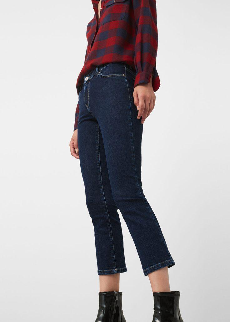 Skinny jeans in 7/8-länge jandri - Jeans für Damen | MANGO Deutschland