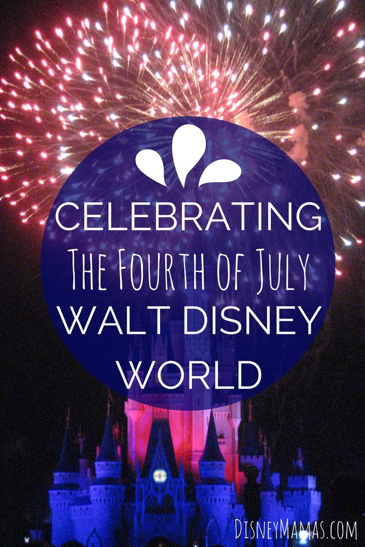 july 4th at disney world 2015