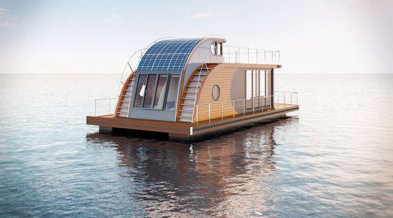Schwimmendes Wohnmobil - Urlaub auf einem Hausboot gefällig?!