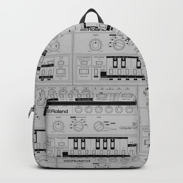 Buy Roland TB-303 Bass Line Wireframe Backpack by sitchko. Worldwide shipping available at Society6.com. Just one of millions of high quality products available.