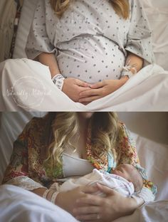 You can't ever take too many photos when it comes to the delivery room! Whether you hire a photographer or have your own camera, hand it off to someone. Let them take photos, let them be a part of the experience. After, you can re-live the moments that mo