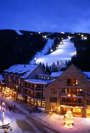 Keystone Ski Resort, Colorado; except I'd just chill in the lodge because I fail at pretty much all winter sports
