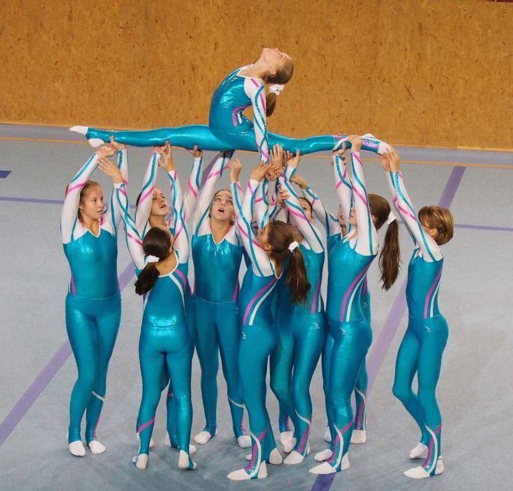TeamGym – tým Junior II - dívky - pódiová skladba