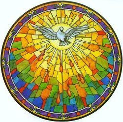 holy spirit stained glass - Buscar con Google