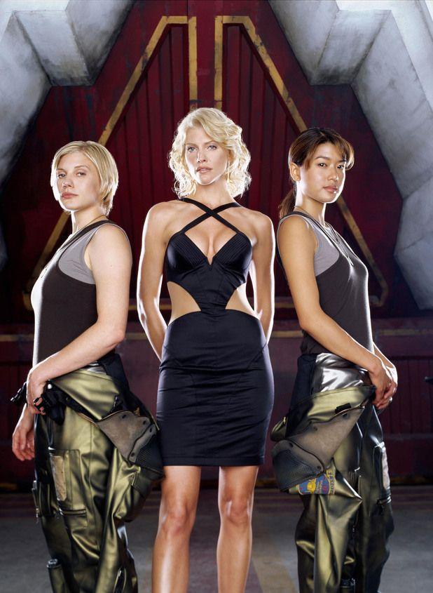 Capt Kara 'Starbuck' Thrace, Number Six & Lt Sharon 'Boomer' Valerii - Katee Sackhoff, Tricia Helfer & Grace Park - Battlestar Galactica 2004/2009