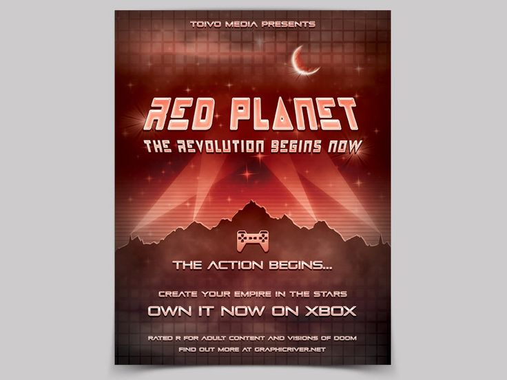 Get your ass to Mars! Futuristic Flyer Templates - buy them here: https://graphicriver.net/item/futuristic-flyers-bundle/19932241