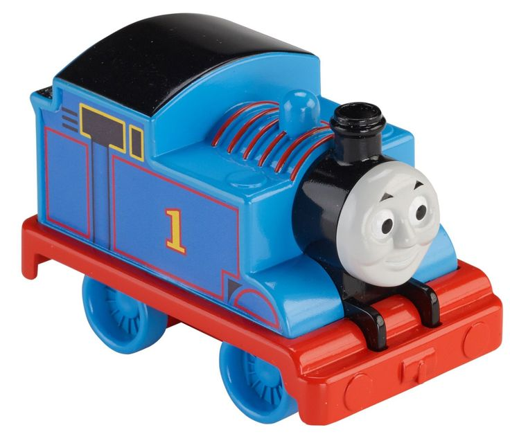 Push Along Thomas from Fisher-Price is easy to grasp, so he's ideal for your child's small hands. He's also the perfect introduction to the world of Thomas & Friends, or a great addition to any toy tr