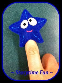 Storytime ABC's: Flannel Friday: Colorful Seastars