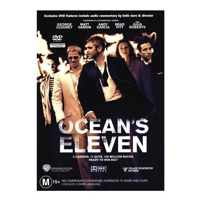 Ocean's Eleven  (DVD) - George Clooney, Brad Pitt, Matt Damon