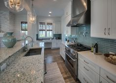 coastal-inspired kitchen | David Weekley Homes
