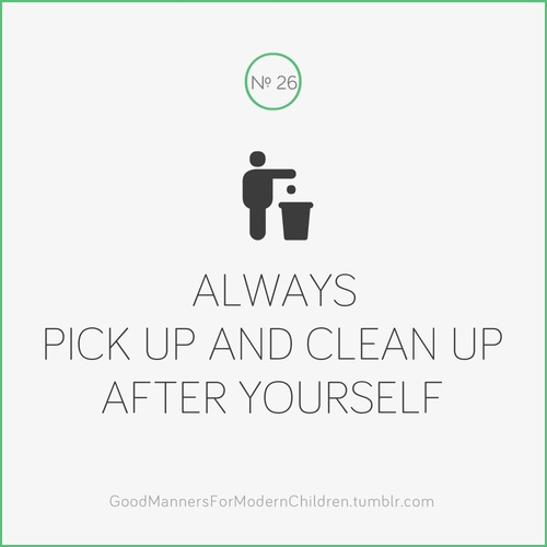 Clean After Yourself Signs Printable Switchsecuritycompanies