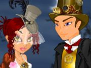 Free Online Girl Games, Have your own steampunk wedding in this fun dress up game! Take a step into the technological past and then have the wedding of your dreams!  Choose between a more Victorian approach and dress in classic clothes or mix it up with a  futuristic look!, #steampunk #bride #wedding #dress #makeover