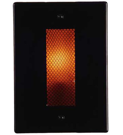 "8""W Metro Fusion Alcatraz Contemporary Wall Sconce"