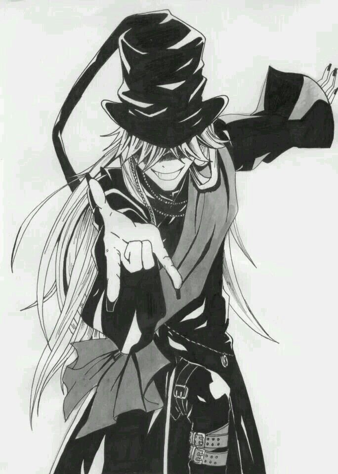 Black Butler Undertaker Rock It