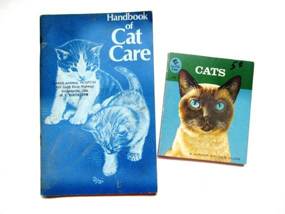 Quiz Me Cats Book And Handbook Of Cat Care Vintage Cat Books Cat Care Cat Books Vintage Cat