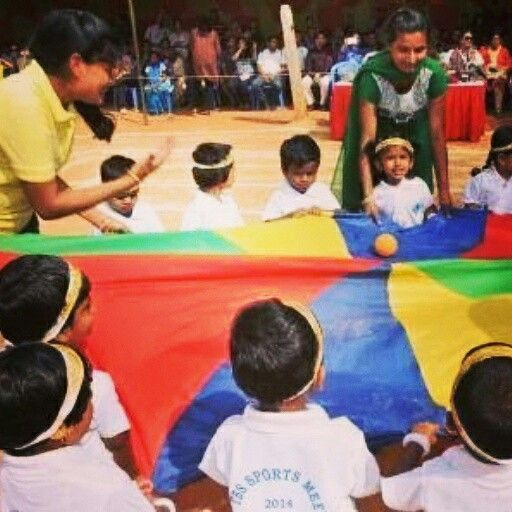 The Bangalore School (TBS) had its Sports Day 2014 last week #preschool #daycare #kindergarten #playschool #nursery #Whitefield #Bangalore #India #sports #sportsday