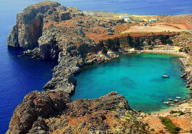 Lindos, Rhodes, Greece: Rodo Greece, Rhode Greece, Discover Greece, Beautiful Places, Lindo Rodo, Rhodes Lindo, Places To Go Before I Die, Greece Rhode St. Paul Bays, Places Worth Visit
