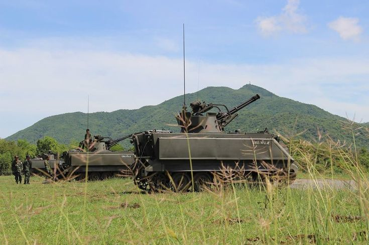 Royal Thai Army M-163 VADS Get an Upgrade