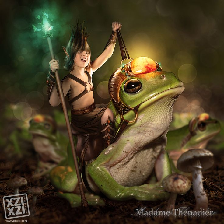 Frog prince by MadameThenadier.deviantart.com on @deviantART