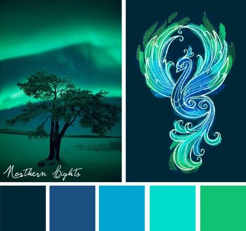 Color Inspirations – Northern Lights