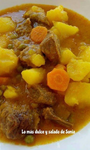 Lo más dulce y salado de Sonia: Patatas guisadas con ternera {olla GMG}