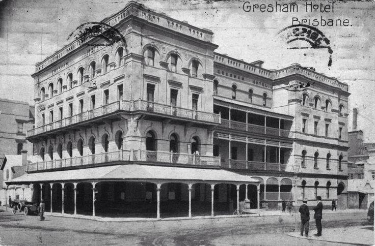 Gresham Hotel 1930's - from Lost Brisbane Facebook page