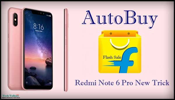 Are You Searching For How To Autobuy Redmi Note 6 Pro From Flipkart Flash Sale Script Trick Autobuy Redmi Note 6 Pro In Cart From Mi An Flash Sale Flash Trick