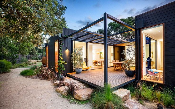 Merricks Beach House – A Contemporary Take on the Great Australian Beach Shack - architecture and design
