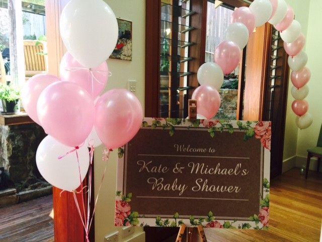 Beautiful Baby Shower Balloons