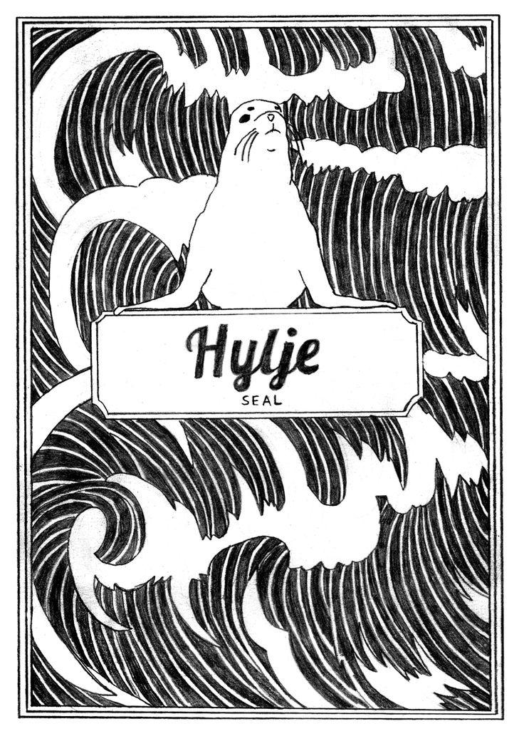 "Illustration for comic book ""Animals"" by Eeva Meltio"