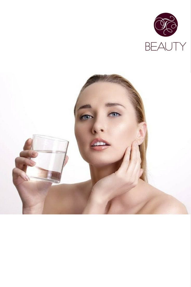 To have a radiant and young skin, it's not enough only to use the moisturising creams. Also, we need to drink enough clean water!