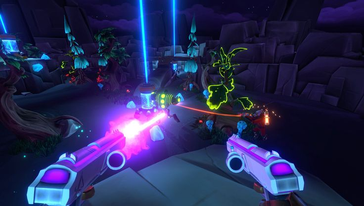 Announcement Trailer Reveal For Aftercharge. Developed, Published by Chainsawesome Games, First Person Shooter Revealed At PAX East, Eyes 2018 Release #aftercharge #firstpersonshooter #indiegame #scifi