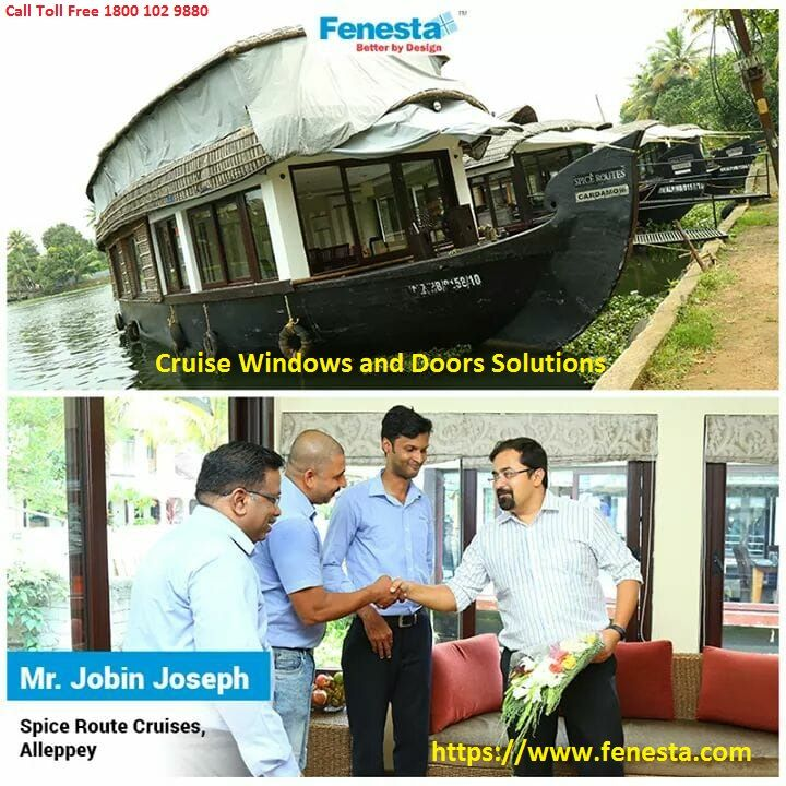 If you are looking for cruises window and door solutions, choose Fenesta as they are the best in India. Fenesta provide the option of choosing cabin or balcony with a great view. Find best window for your cruise visit