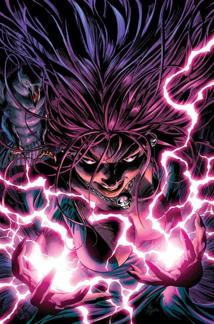 Mike Deodato Comic Vine Raven Mephista Lady Blaze Vs Circe Morgan Le Fay Loki Badass