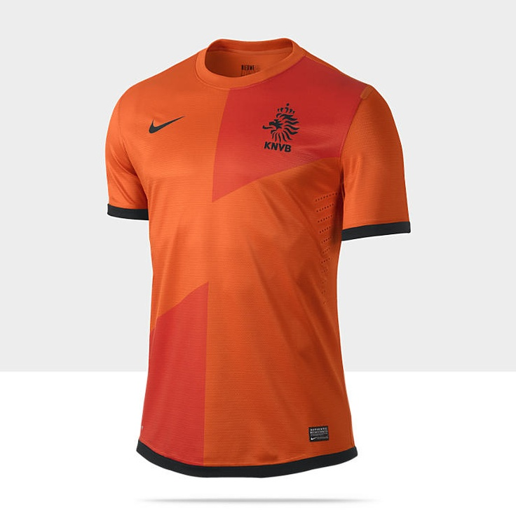 2012/13 Netherlands Authentic Men's Soccer Jersey