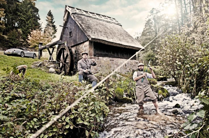 Christoph and Alexander, Master Distiller and Founder of Monkey 47. Photography: Bernd Kammerer. berndkammerer.com
