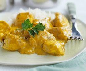 pollo al curry facil