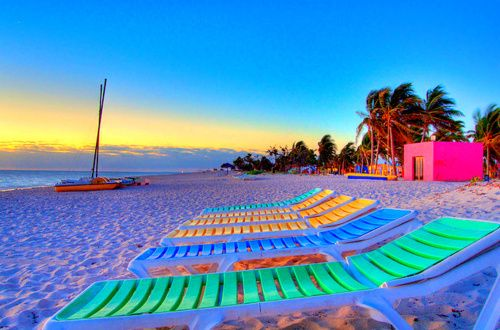 Who wouldn't want to be here?! : At The Beaches, Pink Summer, Beaches Time, Beaches Chairs, The Ocean, Beaches Parties, Summer Colors, Beaches Sunsets, Summer Time