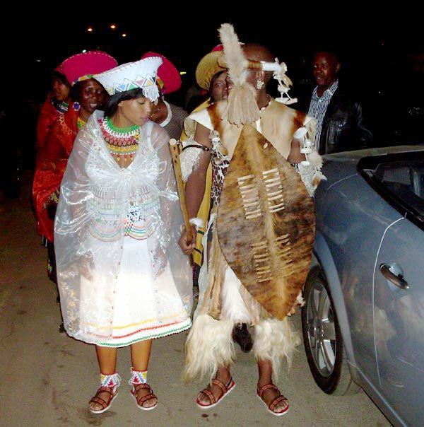 Sithembiso Zwane and Pontsho Mudau's traditional wedding