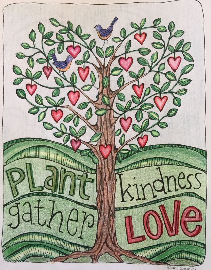 My Coloring Page From The Book Simple Blessings By Karla