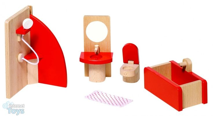 playmobil+bathrooms+and+accessories   Home Toys Wooden Toys Goki Houten Poppenhuis Badkamer 5 ...