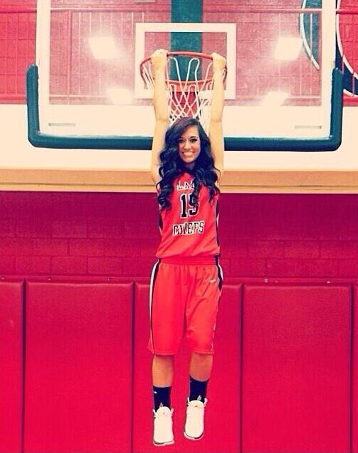 Basketball Senior Pic