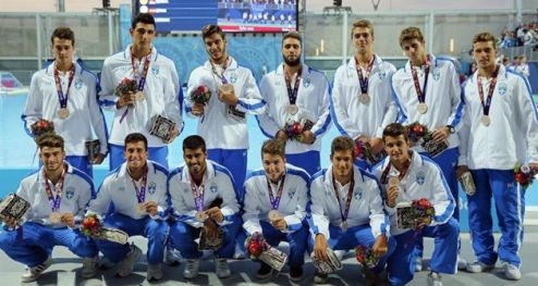 It was a great weekend for Greek water polo, as both women's and men's teams won bronze in the in Baku 2015 1st European Games.