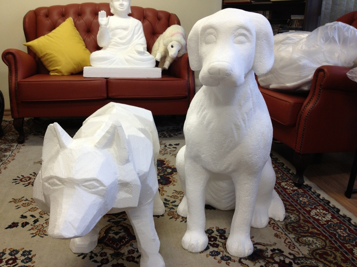 Esculturas isopor