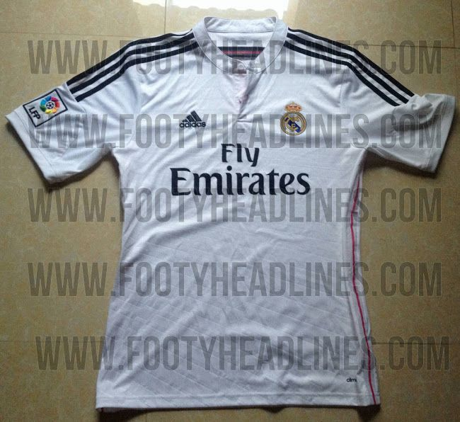 Possível Camiseta Real Madrid 2014-15 #realmadrid #soccer #futbol #futebol