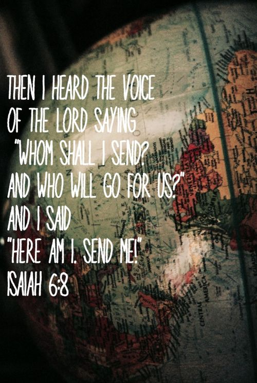 Isaiah 6:8 #Bible #Scripture