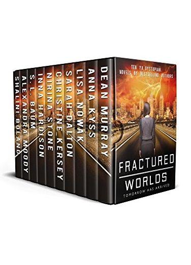Fractured Worlds: Ten YA Dystopian Novels by Dean Murray, Anna Kyss, Lisa Nowak, Sarah Dalton, Christine Kersey, Nirina Stone, Inna Hardison. 10 compelling YA dystopian novels. Free! http://www.ebooksoda.com/ebook-deals/fractured-worlds-ten-ya-dystopian-novels-by-dean-murray-anna-kyss-lisa-nowak-sarah-dalton-christine-kersey-nirina-stone-inna-hardison