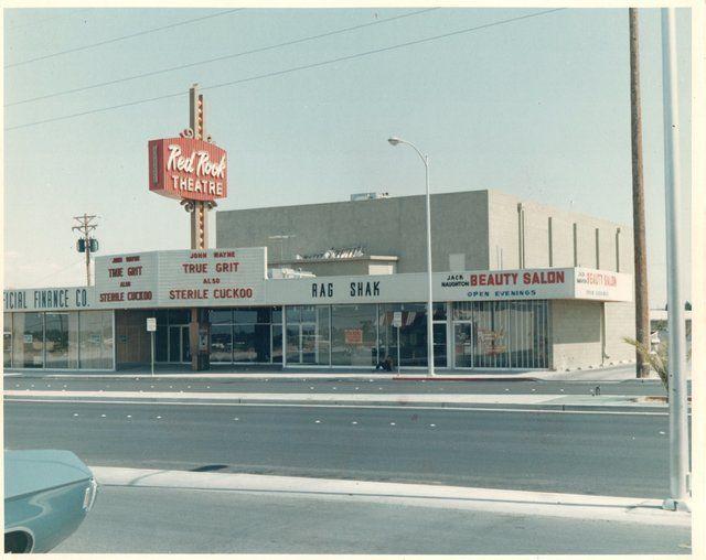 Red Rock Theater 1970 Theatre Old Vegas Las Vegas