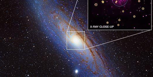 Andromeda'da Yeni Karadelikler Keşfedildi! Gökbilimciler NASA'nın  Chandra X-Işını verileri aracığıyla komşumuz olan Andromeda'da daha önce rastlanmamış özgür karadelik keşfettiler.