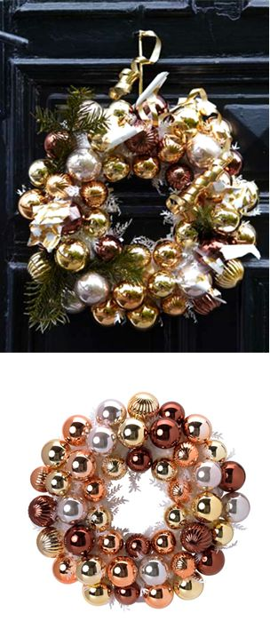 Get creative this holiday with IKEA decorations! Add some garland, ribbon and your own personal touches to the VINTERMYS wreath for simple way to show your festive spirit this holiday season.